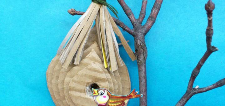 Гнезда для птиц поделки своими руками
