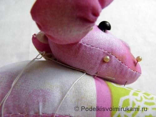 Как сшить игрушечную собаку. Шаг №9. Фото 1.