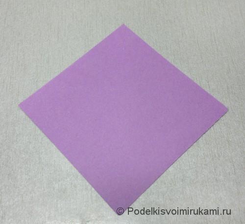 Как сделать цветок из бумаги. Модульное оригами. Фото №2.