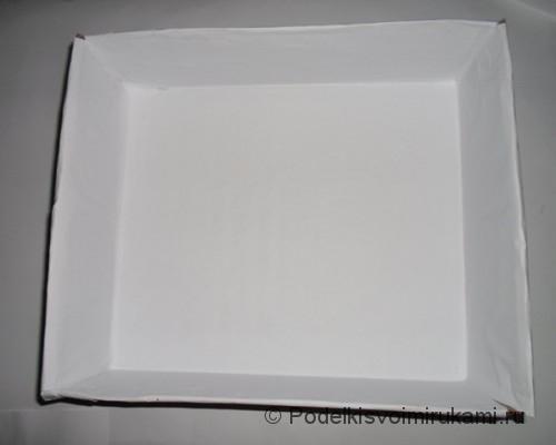 Декор коробки для кухни своими руками. Шаг №2.
