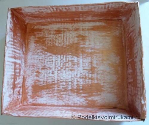 Декор коробки для кухни своими руками. Шаг №3.