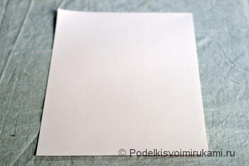 Изготовление бумажного кораблика - фото №1.