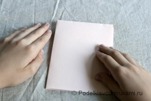 Изготовление бумажного кораблика - фото №3.