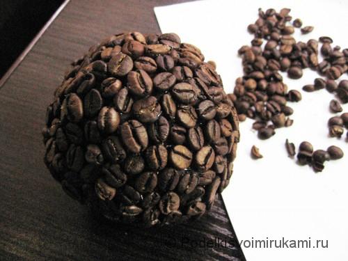 Как сделать кофейное дерево своими руками. Шаг №13.