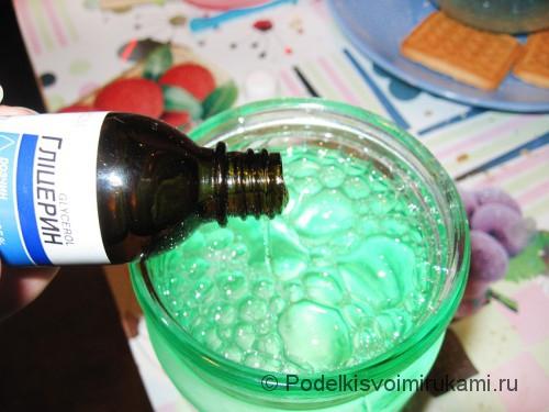 Как сделать раствор для мыльных пузырей в домашних условиях. Шаг №3.