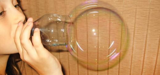 Как сделать раствор для мыльных пузырей в домашних условиях. Итоговый вид поделки.
