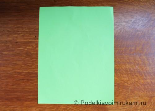 Как сделать самолётик из бумаги своими руками. Шаг №1.