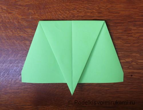 Как сделать самолётик из бумаги своими руками. Шаг №5. Фото 1.