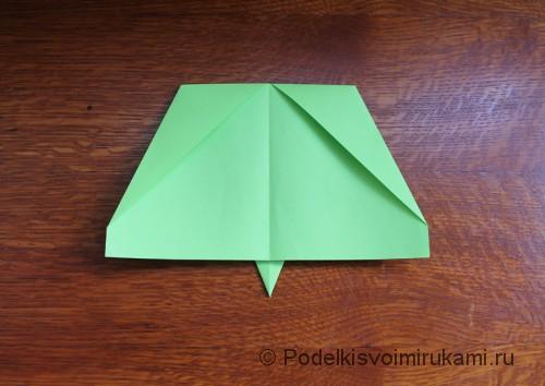 Как сделать самолётик из бумаги своими руками. Шаг №5. Фото 2.