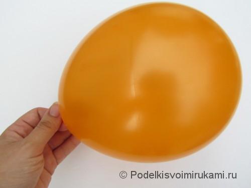 Как сделать шарик из ниток своими руками. Шаг №1.
