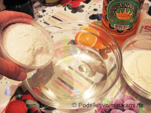 Как сделать солёное тесто для поделок. Шаг №2.