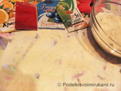 Как сделать солёное тесто для поделок. Шаг №8.