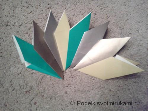 Как сделать восьмиугольный сюрикен из бумаги. Шаг №1.