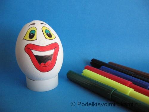 "Ёлочная игрушка. Клоун ""Клёвый Лёва"". Шаг №3."