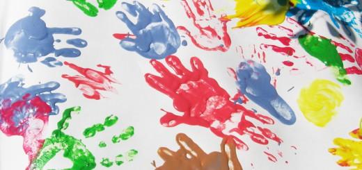 Пальчиковые краски своими руками. Итоговый вид пальчиковых красок.