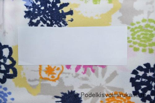 Как сделать когти из бумаги. Шаг №1. Фото 2.
