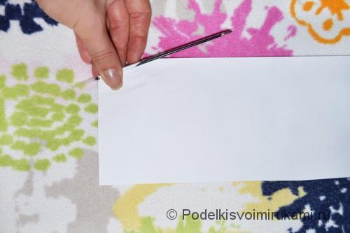 Как сделать когти из бумаги. Шаг №1. Фото 3.