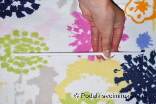 Как сделать когти из бумаги. Шаг №1. Фото 4.