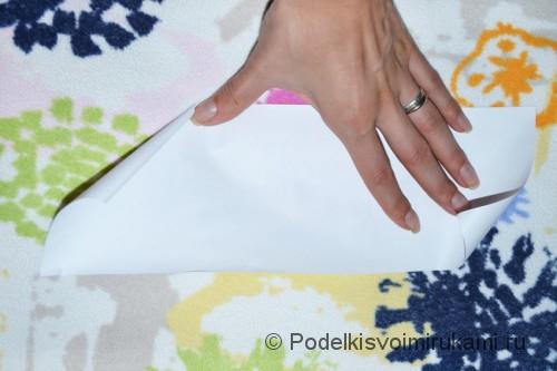 Как сделать когти из бумаги. Шаг №1. Фото 5.