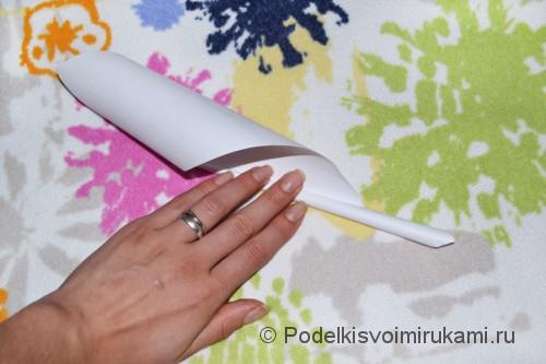 Как сделать когти из бумаги. Шаг №1. Фото 6.