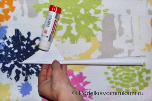 Как сделать когти из бумаги. Шаг №1. Фото 8.