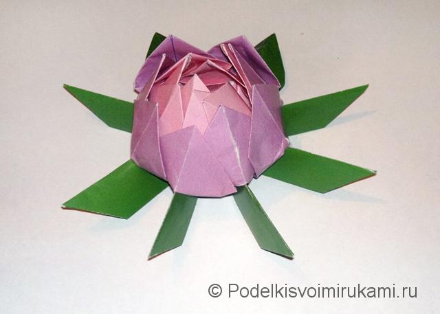 Как сделать лилию из из бумаги