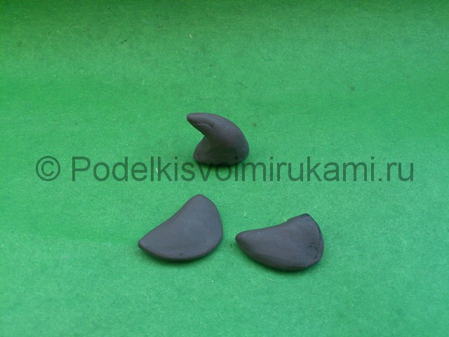 Акула из пластилина. Шаг №8.