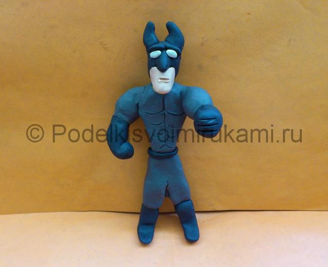 Как сделать из глины фигурки бэтмен детям