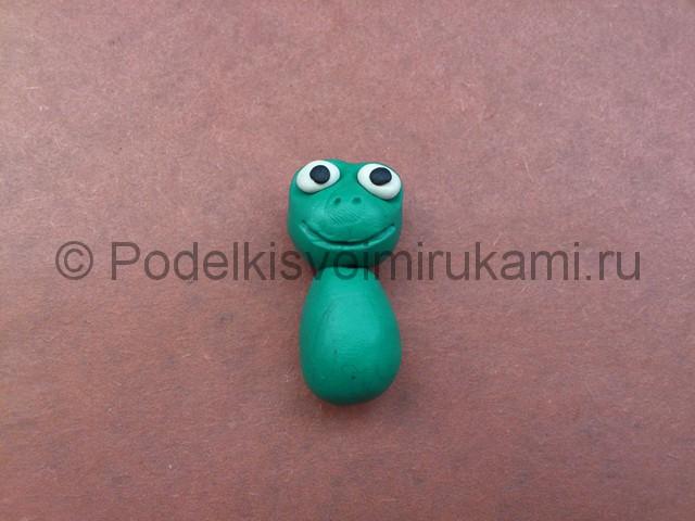 Царевна-лягушка из пластилина. Шаг №6.