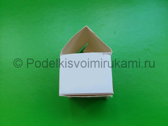 Домик из пластилина. Шаг №2.