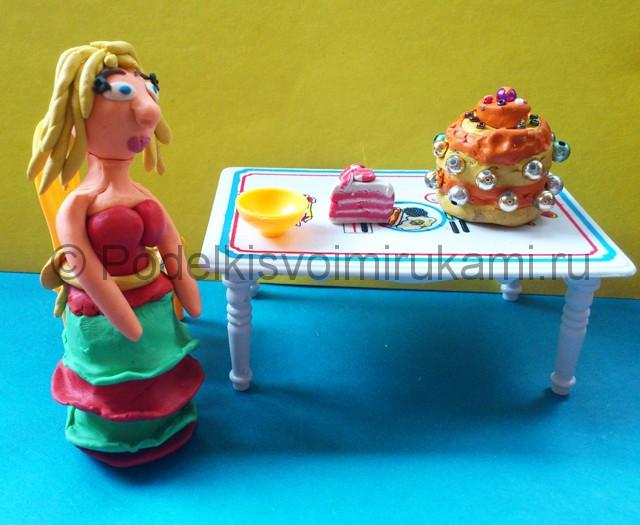 Куклы как сделать пластилин 681