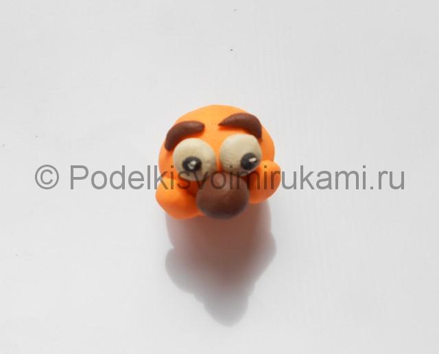 """Как слепить Копатыча из пластилина (м/ф """"Смешарики""""). Шаг №5. Фото 5.2."""