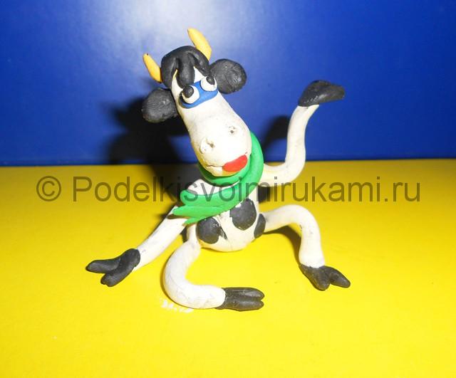 Лепка корова мастер класс