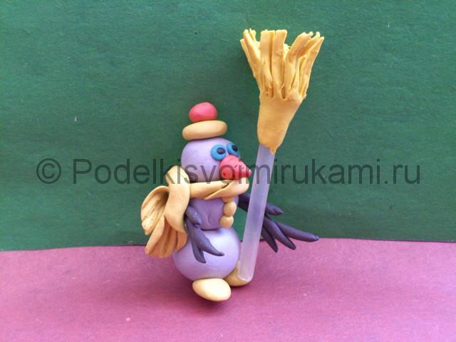 Как сделать руки для куклы из пластилина