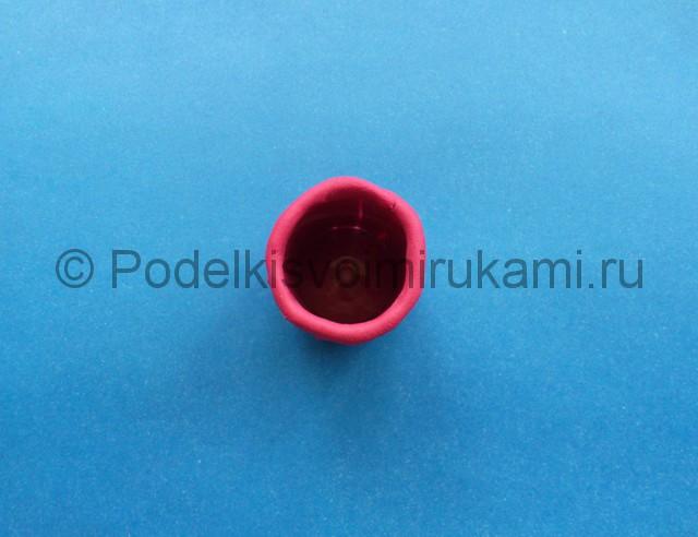 Кружка из пластилина. Шаг №6.
