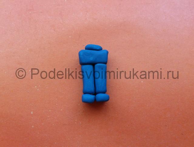 Лего из пластилина. Шаг №7.