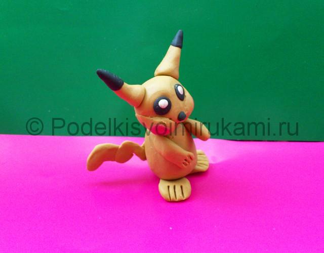 Лепка Покемона из пластилина. Итоговый вид поделки. Фото 1.