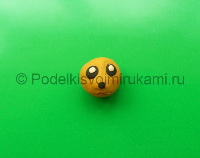Лепка Покемона из пластилина. Шаг №3.