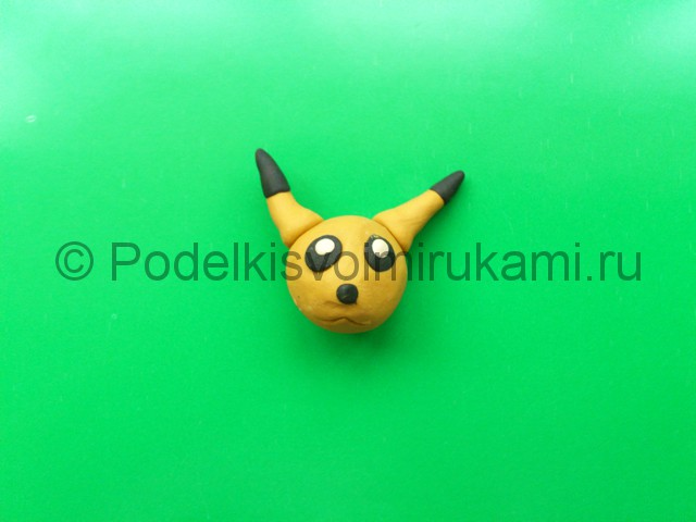 Лепка Покемона из пластилина. Шаг №4.