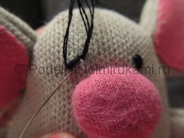 Мышка-очаровашка «Маруся» своими руками. Фото 10.