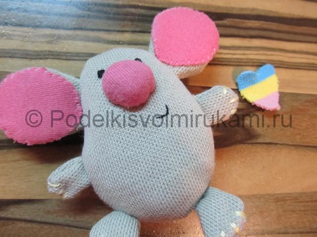 Мышка-очаровашка «Маруся» своими руками. Фото 11.