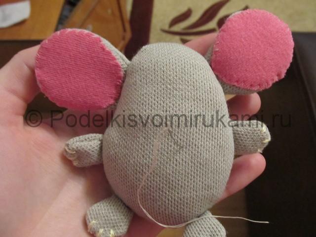 Мышка-очаровашка «Маруся» своими руками. Фото 13.