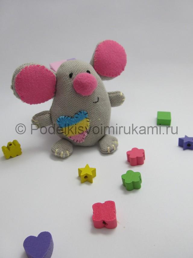 Мышка-очаровашка «Маруся» своими руками. Фото 14.