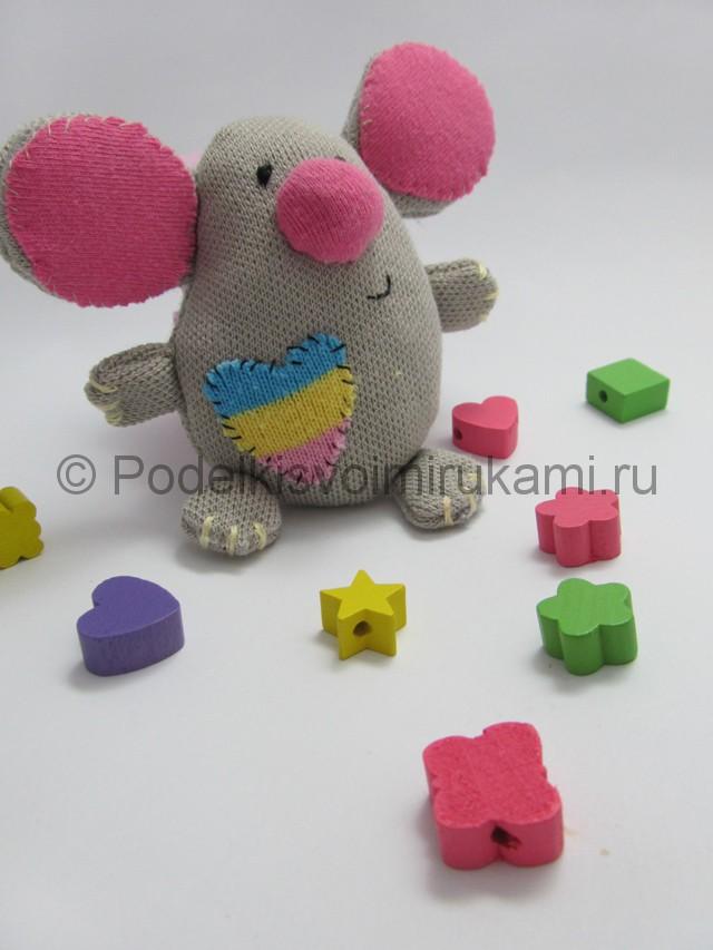 Мышка-очаровашка «Маруся» своими руками. Фото 15.