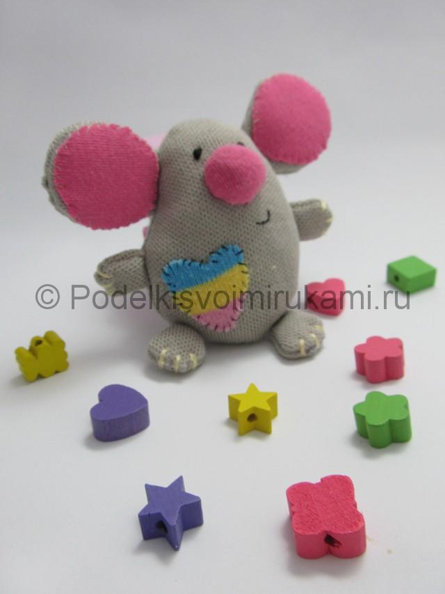 Мышка-очаровашка «Маруся» своими руками. Фото 16.