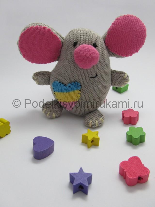 Мышка-очаровашка «Маруся» своими руками. Фото 17.