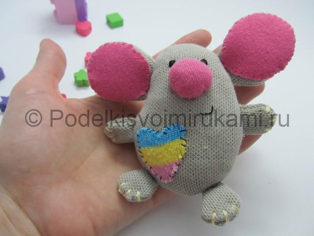Мышка-очаровашка «Маруся» своими руками. Фото 19.