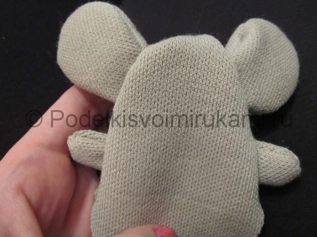 Мышка-очаровашка «Маруся» своими руками. Фото 6.