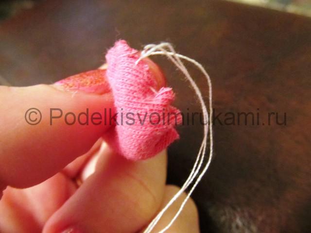 Мышка-очаровашка «Маруся» своими руками. Фото 7.