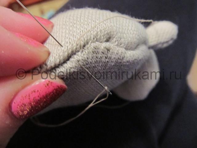 Мышка-очаровашка «Маруся» своими руками. Фото 9.